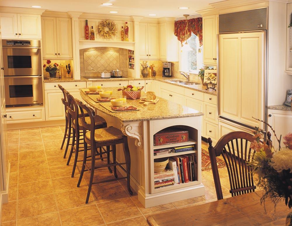 triangle kitchen design