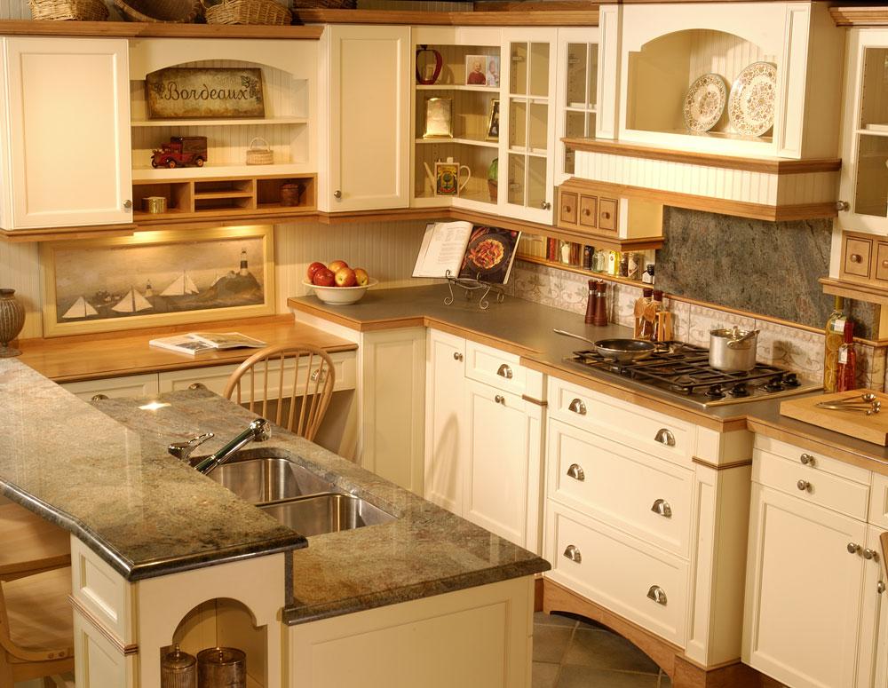 Kitchen design gallery triangle kitchen for Kitchen design triangle